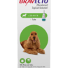 Bravecto Topical Solution for Dogs, 22-44 lbs, 1 treatment (Green Box)