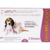 Revolution Topical Solution for Puppy & Kitten, under 5 lbs, 3 treatments (Mauve Box) FRONT