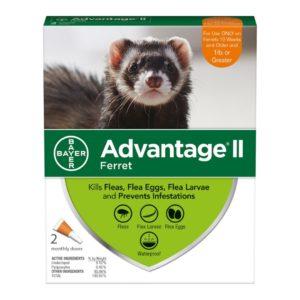 Advantage II Flea Treatment for Ferrets By Advantage II