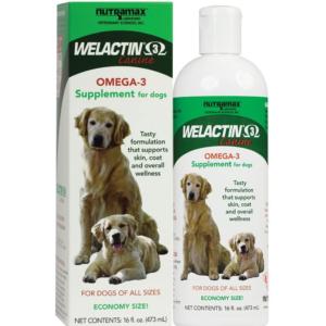 Nutramax Welactin Canine Omega-3 Liquid Dog Supplement MAin