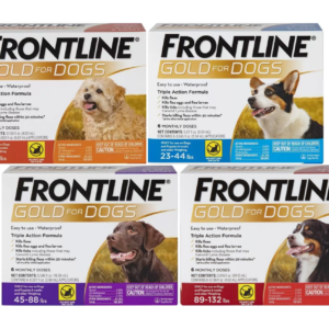 Frontline Gold for Dogs and Puppies All