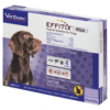 EFFITIX Flea & Tick Spot Treatment for Dogs, 23-44.9 lbs, 3 Doses (3-mos. supply)