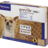 EFFITIX Flea & Tick Spot Treatment for Dogs, 5-10.9 lbs, 3 Doses (3-mos. supply)