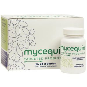 Mycequin Targeted Probiotic Chewable Tabs for Dogs