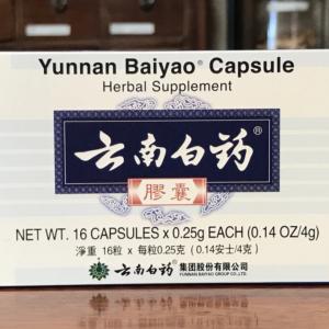 Yunnan Baiyao Capsules 16 Count