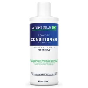 AtopiCream HC Leave on Conditioner for Animals, 8 oz