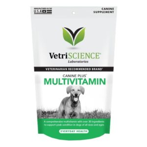 VetriScience Canine Plus Soft Chews Multivitamin for Dogs 30ct